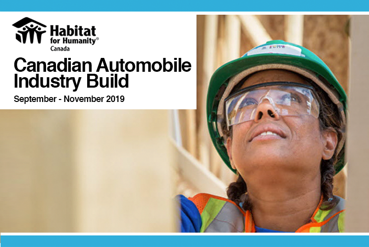 Habitat for Humanity Canadian Automotive Industry Build